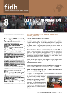 Newsletter Afrique #8 - FIDH - WORLDWIDE MOVEMENT FOR HUMAN RIGHTS