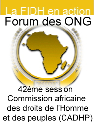 Forum de participation des ONG
