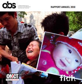 L'obstination du témoignage - Rapport 2010
