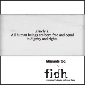 Migrants : 20th Anniversary Ratification Campaign