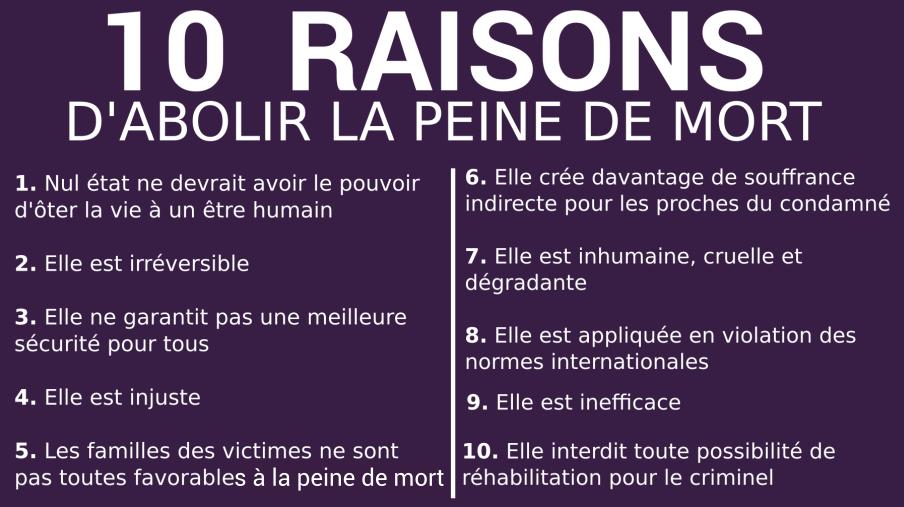 Pour Ou Contre La Peine De Mort ? - Rapports de Stage - Powaschool